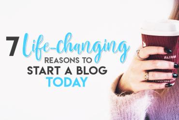 Should I Start a Blog? 7 Life-changing Reasons to Start a Blog Today. Why Start a Blog | Blogging Tips | Online Entrepreneur #bloggingtips