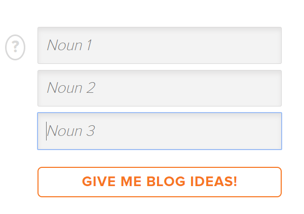 HubSpot Blog Topic Generator Article Titles