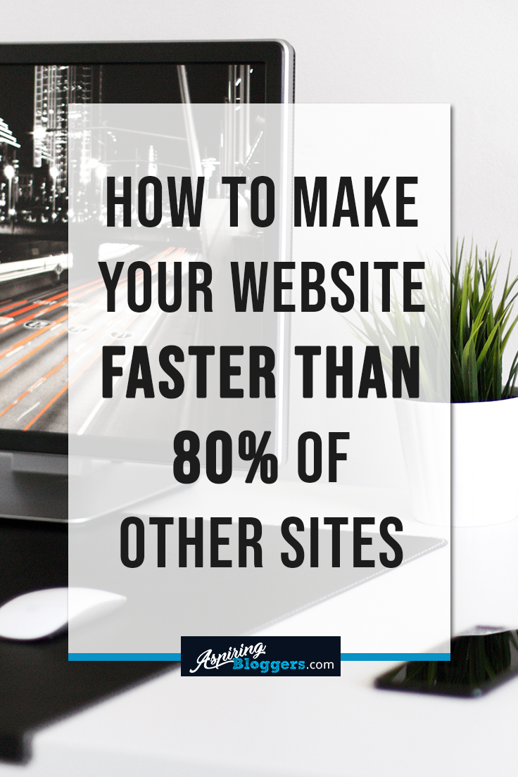 How to Make Your Website Faster Than 80% of Other Sites  #bloggingtips #blogging #speed