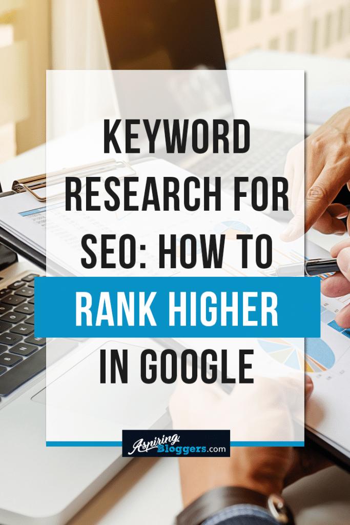 Keyword Research for SEO Google Light #SEO #blogging #bloggingtips