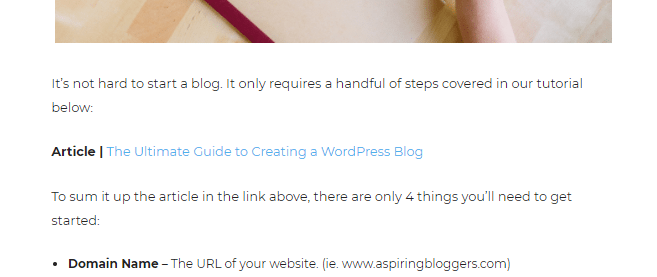 Start a Blog Promote Your Blog Posts