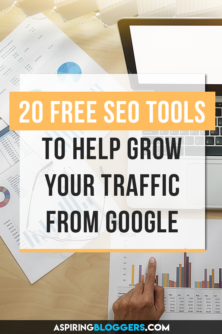 20+ Free SEO Tools for Bloggers. SEO tools free, SEO tools Google, SEO tips, SEO for beginners, SEO for bloggers, SEO for dummies, grow organic traffic.