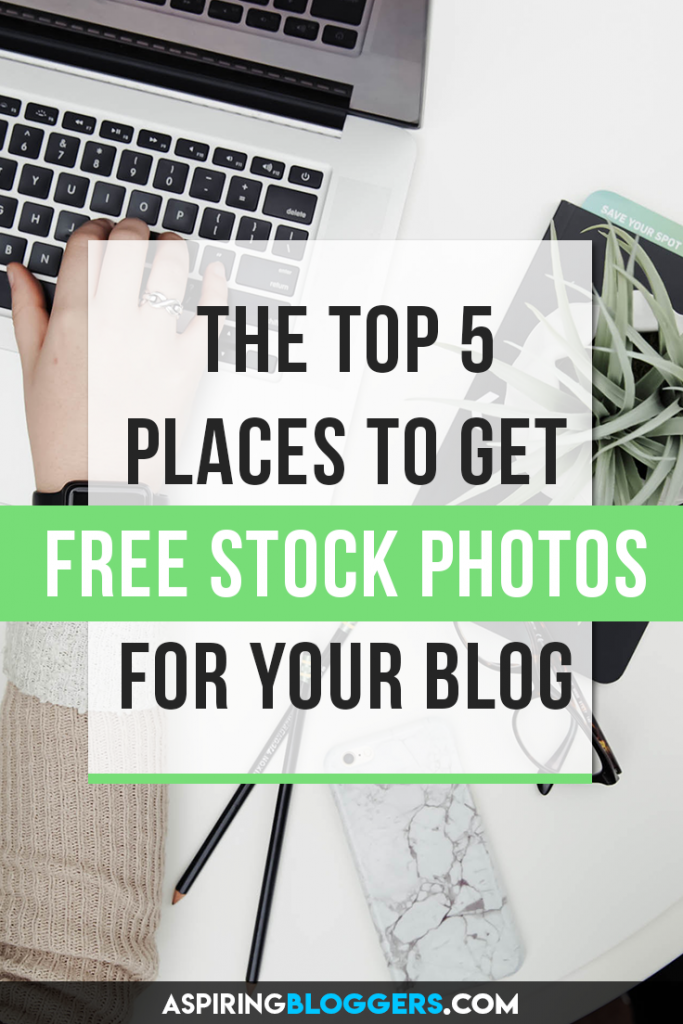 The Top 5 Places to Get Free Stock Photos For Your Blog. Blog design tips, stock photo sources, blog images, blog images design, blog images pictures.