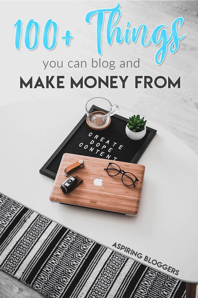 blogging niches