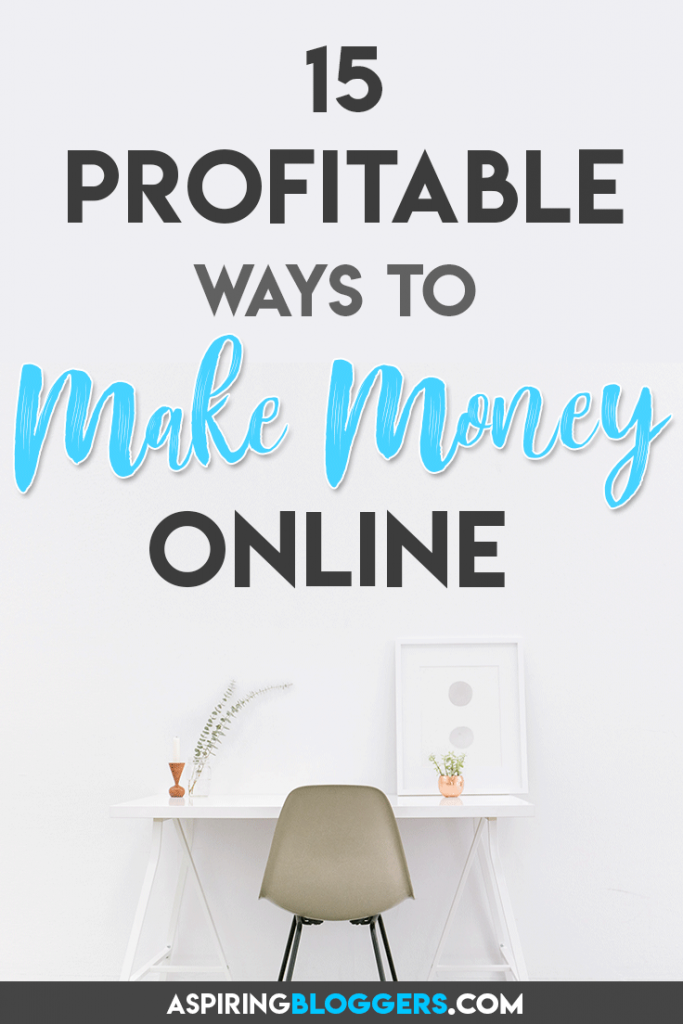 Want to make money online? Here are 15+ jobs that you can do from home! Click to find out more. How to Make Money Blogging | Make Money Online | Passive Income | Work at Home | Work From Home #makemoneyblogging #makemoneyonline