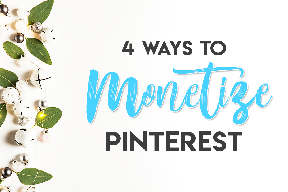 Monetize Pinterest